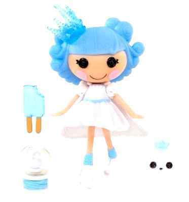 EXCLUSIVE!! Mini LALALOOPSY Ivory Ice Crystals!!  -BRAND NEW! RARE !! Sold out!!