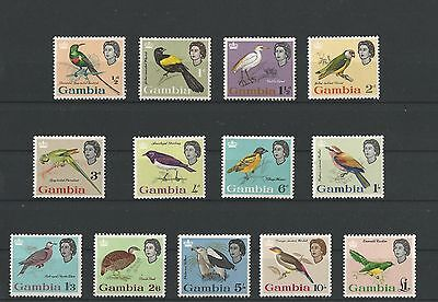 Gambia 1963 Birds. MNH