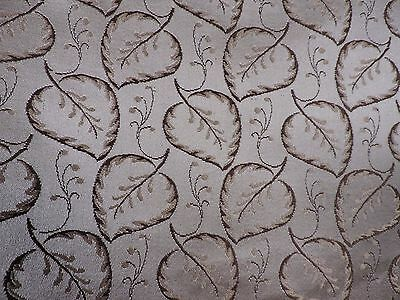 Antique Turn Of The 19Th C Rich Brocade Upholstery Silk W Leaves