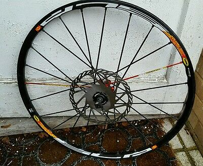 "mavic crossmax slr Front Wheel 26"" 9mm QR"