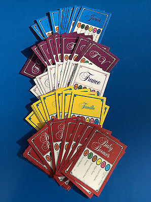JEU TRIVIAL PURSUIT Lot de 50 Cartes Edition MIXTES 300 Questions Recharge FR !