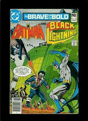 Brave And The Bold # 163 Batman Black Lightning (DC 1980, FN) Combined Shipping!
