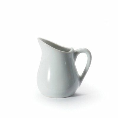 BIA Cordon Bleu White Porcelain 1 ounce Mini Creamer