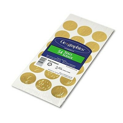 Geographics Gold Embossed Seals - 45204