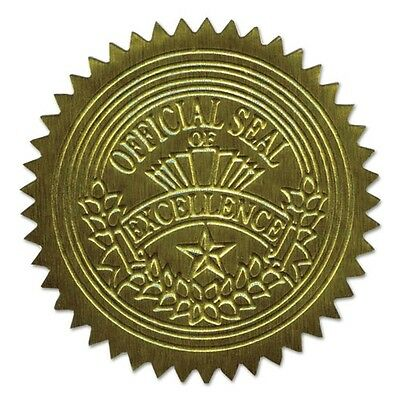 Geographics Gold Foil Embossed Seals - 20014