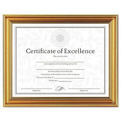 DAX Antique Colored Document Frame with Certificate - N1818N1T