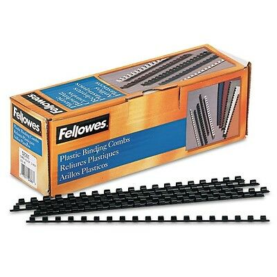 Fellowes Black Plastic Binding Combs - 52366