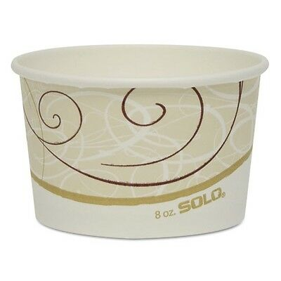 Solo Cup Company Single Poly Paper Containers - VS508SYM