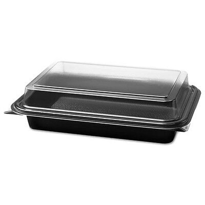 Solo Cup Company Carryout Hinged Plastic Deli Boxes - 844012PM94