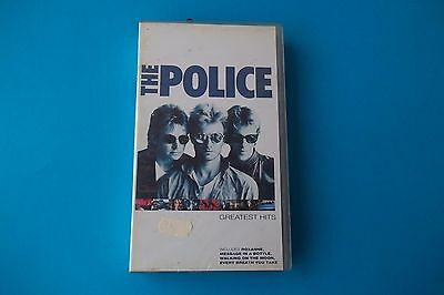 "Vhs Police "" Greatest Hits "" Polygram Video 1986  089 552 2 Sealed"