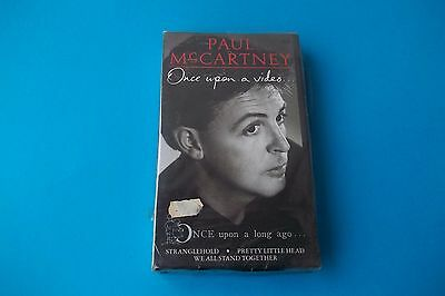 "Paul Mc Cartney "" Once Upon A Video "" Vhs 1987 Mpl/emi Sealed"