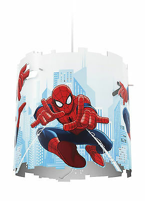 Philips Marvel Spider Man Kids Bedroom Ceiling Pendant Lightshade Lampshade XMAS
