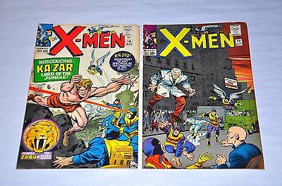X-Men 10 11 Silver Age Lot Capital City Collection
