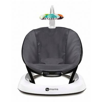 4moms bounceRoo Classic Infant Baby Seat Dark Grey Gently Used