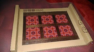 Images d'Orient Wood Tray Sejjadeh