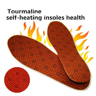 Self Heating Magnetic with Tourmaline Health Insoles Cold Feet Problem solution