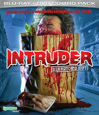 Intruder (1989) [New Blu-ray] With DVD, Director's Cut/Ed, Digital Theater Sys