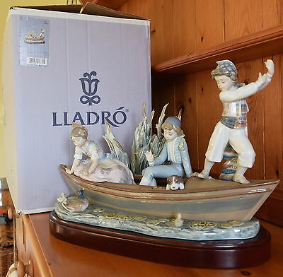 Lladro Valencian Cruise 1731 Mint And Boxed Limited Edition