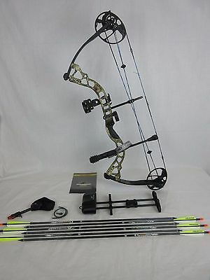 """Diamond Infinite Edge Pro Right Hand Compound Bow Package Camo 5-70lbs 13-31"""""""