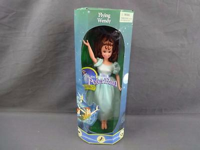 "1993 Mattel Disney Exclusive Flying Wendy 10"" Doll Peter Pan 19297 Mint in Box"