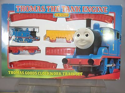 "HORNBY RAILWAYS CLOCK WORK MODEL No.R927 ""THOMAS"" FREIGHT TRAIN SET  MIB"