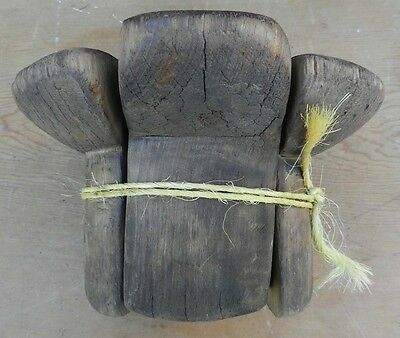 Antique Primitive Old Hat Mold Uncomon -Hand Made -Great Store Display -Folk Art