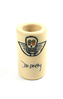 Dunlop Guitar Slide  Joe Perry Boneyard Slide 258 Large - Short Porcelain Ring 9