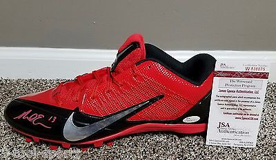 #13 Mike Evans Autographed Signed Tampa Bay Buccaneers Nfl Nike Cleat Bucs Jsa