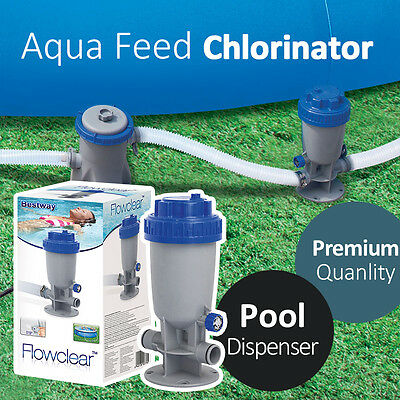 Bestway Flowclear AquaFeed Chlorinator Pool Dispenser Easy Disinfect Pool
