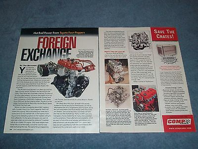"Toyota 2T 3T 20R 22R Performance Tech Info Article ""Foreign Exchange"""