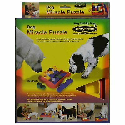 Dog Miracle Puzzle Interactive find treat game training SAR