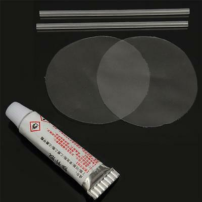 2 Set PVC Puncture Repair Patch Glue For Inflatable Toy Swim Pool Air Bed Dinghy