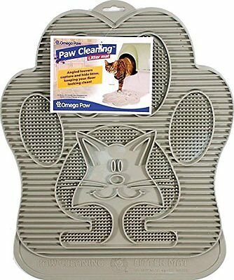Omega Paw Paw Cleaning Litter Mat {LM-SILVER} [ Litter & Housebreaking] CXX