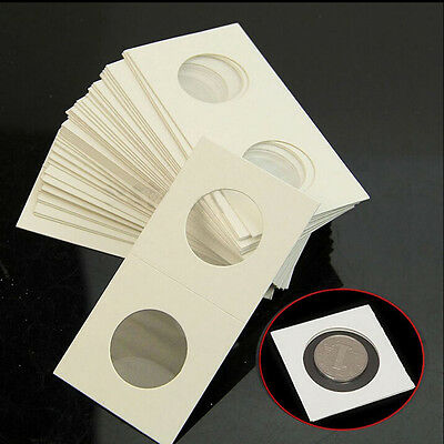 50X Stamp Coin Holders Cover Case Storage