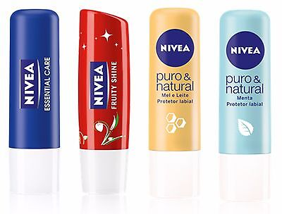 Nivea Moisturising Lip Balm and Lip Butter