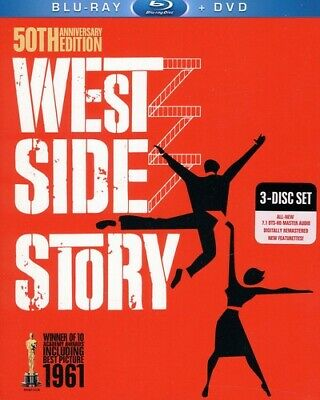 West Side Story [New Blu-ray] With DVD, Rmst, Restored, Anniversary Edition, D