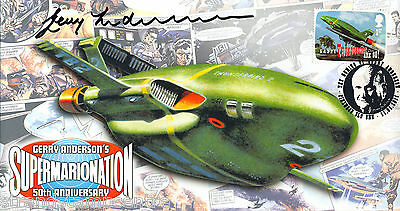 2011 Anderson - Scott 'Thunderbirds' Off - Signed by the late GERRY ANDERSON