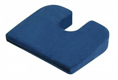 Coccyx Cushion - 11° Back Lumber Support Wedge Pillow - Pain & Pressure Reducing