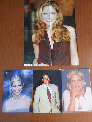 Sarah Michelle Gellar-Buffy The Vampire Killer And Angel Photos And Poster