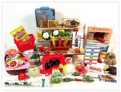 Great deals with Re-ment lots mixed miniatures market foods and fruits