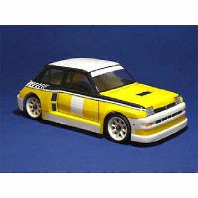 Montech Turbo 5 - 1/10 Body for Tamiya Mini (Unpainted) - MT008002