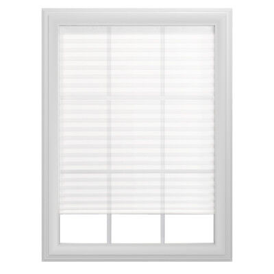 Project Source 1-in White Vinyl Light Filtering Mini-Blinds ...