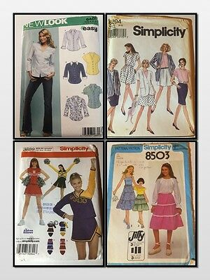 SIMPLICITY Sewing Pattern Mix Women's Men's Children CUT Verified and Complete