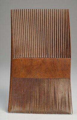 Ancient COPTIC Egypt WOODEN COMB c.5th Century AD