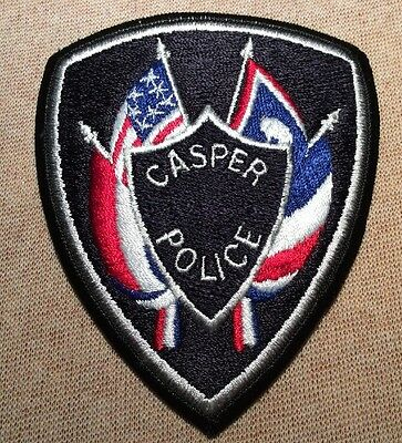 WY Casper Wyoming Police Patch