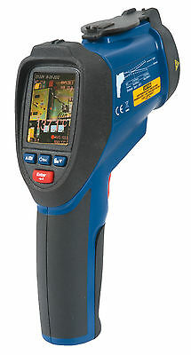 REED R2020 Dual Laser Video Infrared Thermometer, 50:1, 2200°C (3992°F)