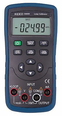 REED R5820 Current Loop Calibrator with mA Sourcing, Simulation & Measurement