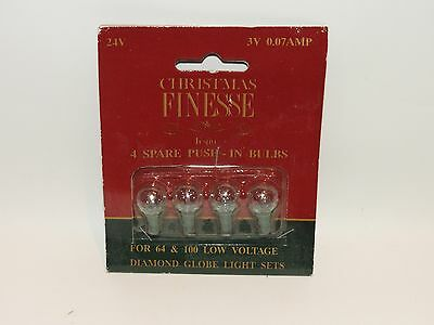 Fairy Christmas Tree Lights Spare Replacement Bulbs  3V 0.07W Clear Globe