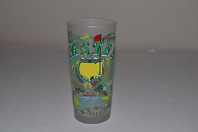 (1) 2016 Masters CATSTUDIO FROSTED DRINKING GLASS from AUGUSTA NATIONAL
