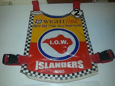 Rare Signed Original 2005 Isle Of Wight Speedway Race Jacket